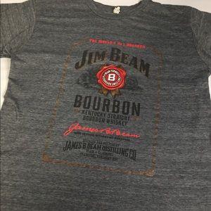 Jim Beam Grey T Shirt Medium